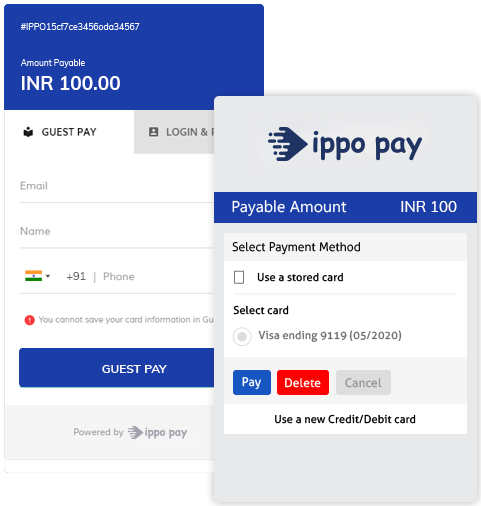 Easy Invoice payments